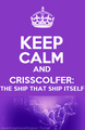 Keep calm... - darren-criss-and-chris-colfer fan art