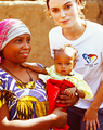 Keira Knightley supports UNICEF UK
