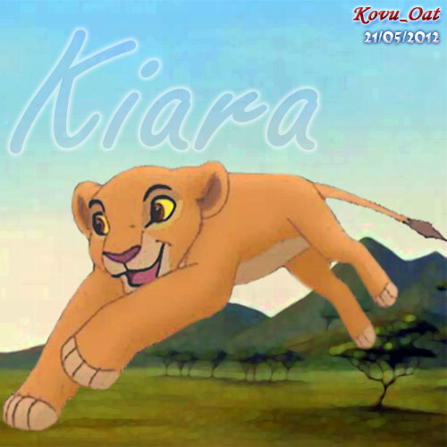 Kiara Young Cub Lion King Icon