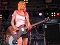 Kim Gordon of Sonic Youth - female-rock-musicians photo