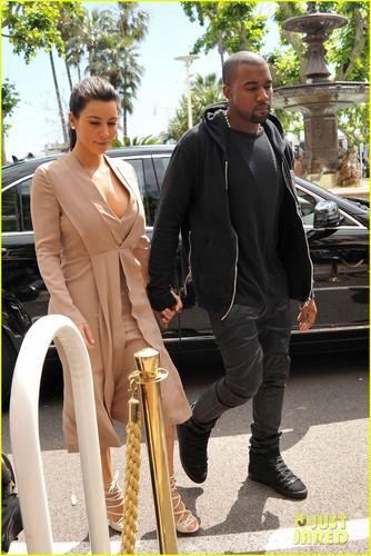 Kim & Kanye: Cannes Film Festival 2012!