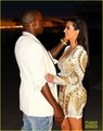 Kim Kardashian: Cannes Events with Kanye West! - kanye-west photo