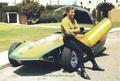 Kirk & his car - james-t-kirk photo