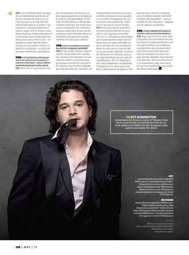 Kit Harington- Esquire México, May '12