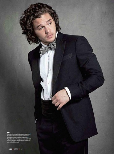 Kit Harington- Esquire México, May '12 - game-of-thrones Photo