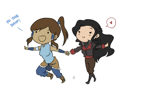 Korrasami - avatar-the-legend-of-korra Photo