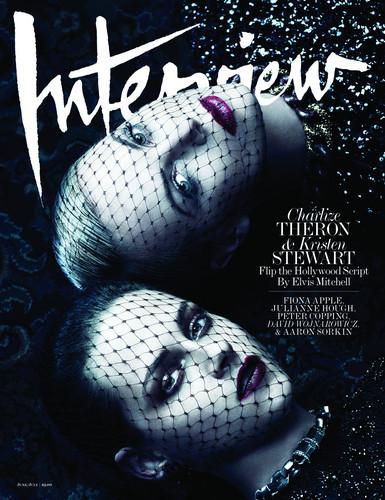 Kristen & Charlize Interview Magazine