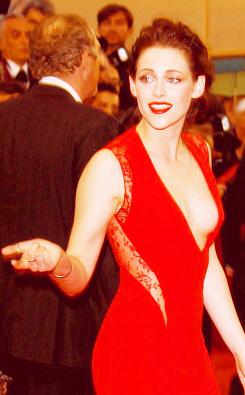 Kristen at Cosmopolis Premiere