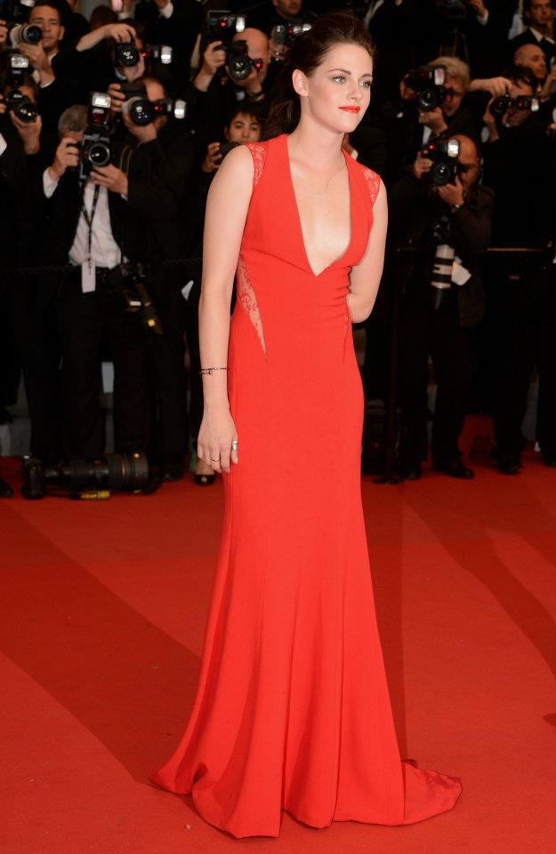 Kristen on the Cannes Cosmopolis Premier