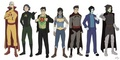 LOK Superheroes/Villains