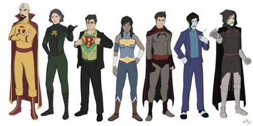 LOK Superheroes/Villains - avatar-the-legend-of-korra Fan Art
