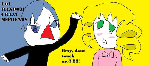 lol no touchy ciel, lizzy