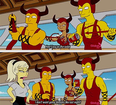 Lady GaGa on The Simpsons!