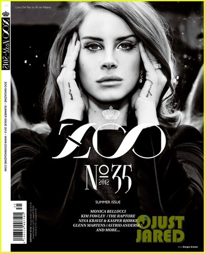 Lana Del Rey Covers 'Zoo' Magazine