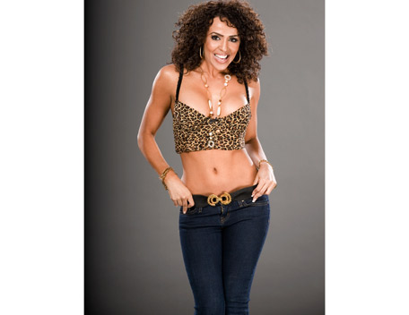 WWE LAYLA پیپر وال titled Layla Photoshoot Flashback