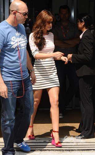 Leaving BBC Radio 2 In London [29 May 2012] - cheryl-cole Photo