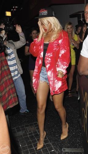 Leaving My Studio Nightclub In LA [26 May 2012]