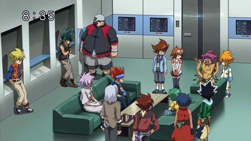 Legend Blader gathering but where's Aguma??
