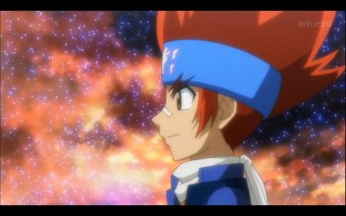 Legend Bladers:Gingka, King, Titi and Yuki