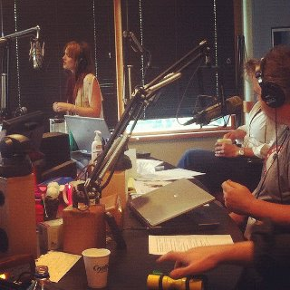 Leighton in the studio with her band - leighton-meester Photo