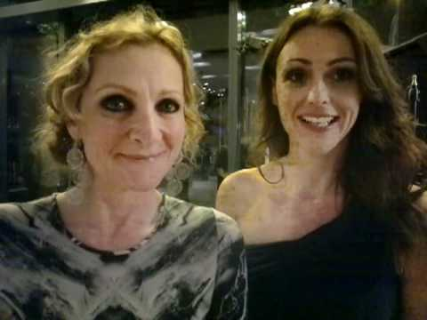 Lesley Sharp & Suranne Jones at RTS Awards Manchester