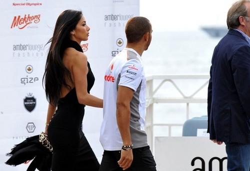 Lewis & Nicole In Monaco
