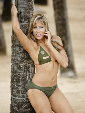 Lilian Garcia wallpaper with a bikini titled Lilian Garcia Photoshoot Flashback