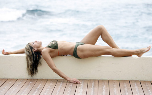Lilian Garcia wallpaper possibly containing a bikini and skin entitled Lilian Garcia Photoshoot Flashback
