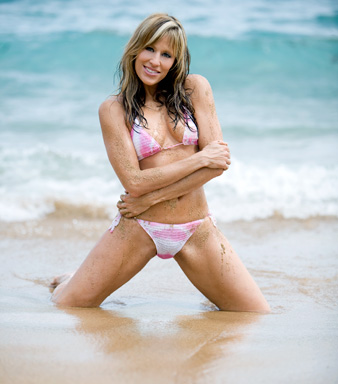 Lilian Garcia wallpaper containing a bikini called Lilian Garcia Photoshoot Flashback