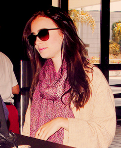 Lily Collins | LAX Airport (May 26, 2012)