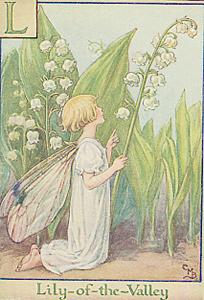 Lily-of-the-Valley Fairy - fantasy Photo