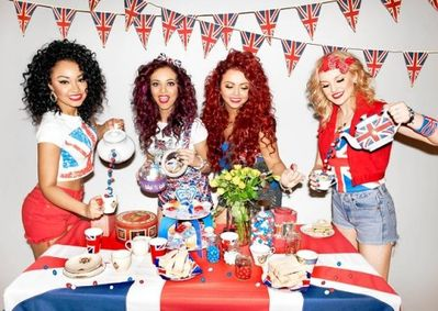Little Mix's M&M Shoot - celebrating Queen's Diamond Jubilee♥