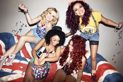 Little Mix's M&M Shoot - celebrating Queen's Diamond Jubilee♥