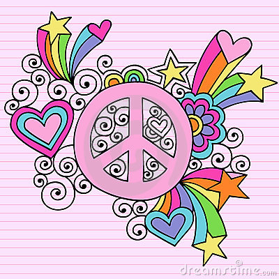 Love Peace and Respect - hippies Photo