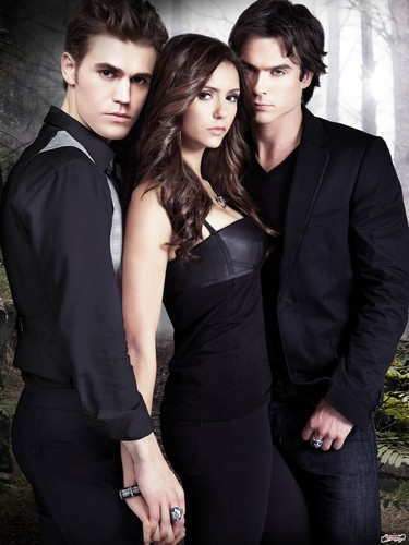 Love triangle - the-vampire-diaries-tv-show Photo