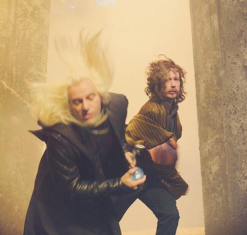 Lucius Malfoy & Sirius Black