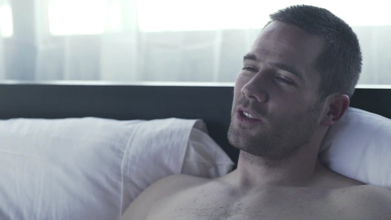 Luke Macafrlane in new short movie Erection