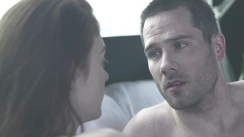 Luke Macfarlane Hintergrund called Luke Macafrlane in new short movie Erection