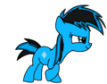 Lune as my little pony xD - lune-the-hedgehog photo