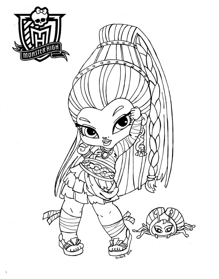 Baby orgre coloring pages