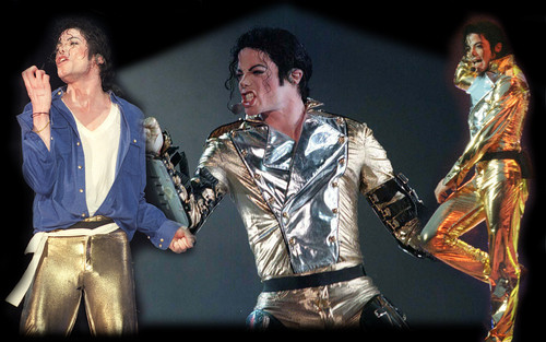 MJ goud PANTS!!! <3
