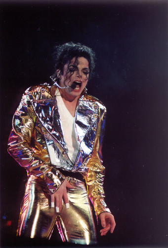 MJ GOLD PANTS!!! <3