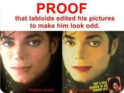 MJ: The Tabloids' Shit!