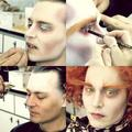 Mad Hatter's make-up