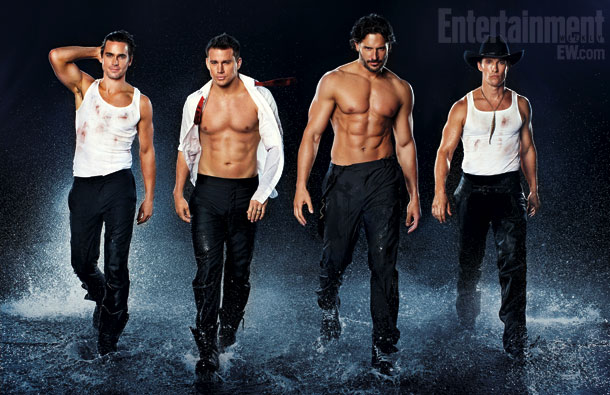 Channing Tatum Magic Mike EW Outtakes