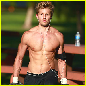 The Hunger Games wallpaper probably with a hunk called Matt Barr possible Finnick