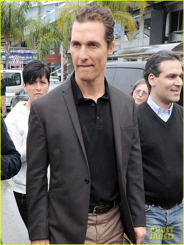 Matthew McConaughey: Bonjour, Cannes!
