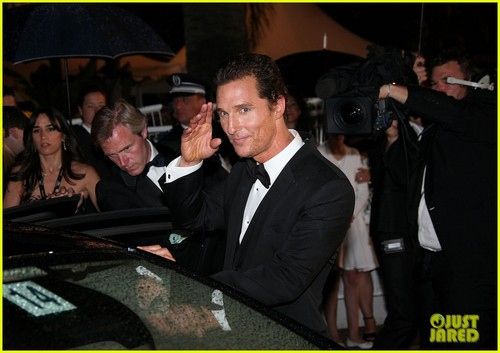 Matthew McConaughey: Cannes After-Party with Camila Alves!