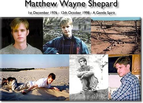 Matthew Wayne Shepard