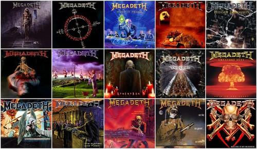 Megadeth Albums